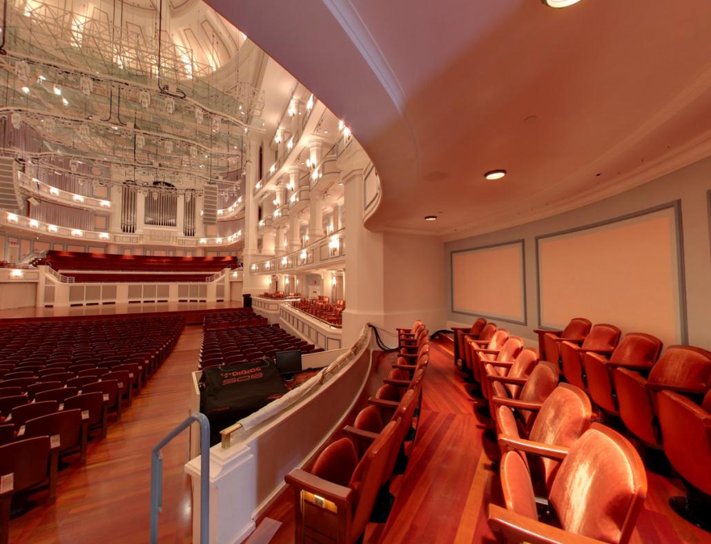 interior view of the Palladium